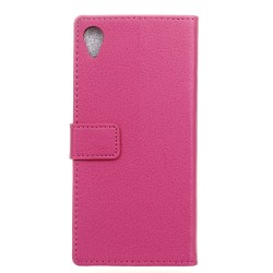 Sony Xperia X Pink Wallet Case