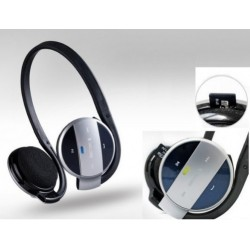 Micro SD Bluetooth Headset For Archos 55 Graphite