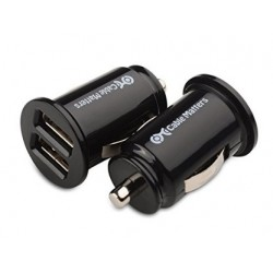 Dual USB Car Charger For Archos 55 Graphite