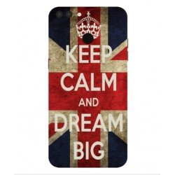 Carcasa Keep Calm And Dream Big Para Archos 55 Graphite