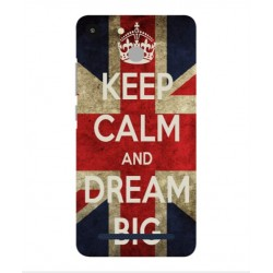 Coque Keep Calm And Dream Big Pour Archos 50f Helium