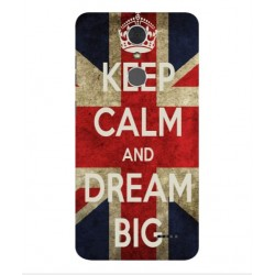 ZTE Grand X 4 Keep Calm And Dream Big Cover