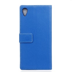 Sony Xperia E5 Blue Wallet Case