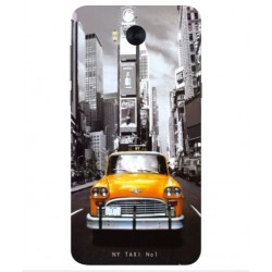 Coque New York Taxi Pour Huawei Y5 (2017)