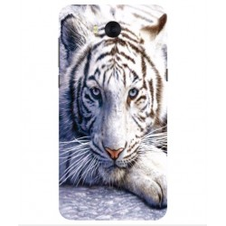 Coque Protection Tigre Blanc Pour Huawei Y5 (2017)