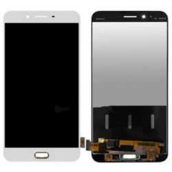 White Oppo R9s Complete Replacement Screen