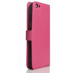 Pink S-view Flip Case For Oppo R9s