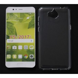Huawei Y5 (2017) Transparent Silicone Case