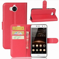 Huawei Y5 (2017) Red Wallet Case
