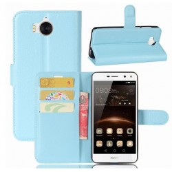 Huawei Y5 (2017) Blue Wallet Case