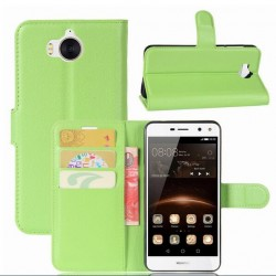 Huawei Y5 (2017) Green Wallet Case
