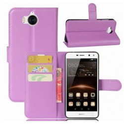 Huawei Y5 (2017) Purple Wallet Case