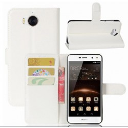 Huawei Y5 (2017) White Wallet Case