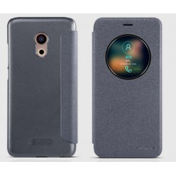 Black S-view Flip Case For Meizu Pro 6