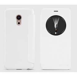 White S-view Flip Case For Meizu Pro 6