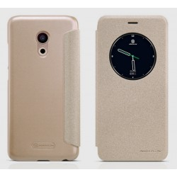 Gold S-view Flip Case For Meizu Pro 6