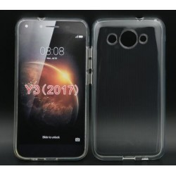 Coque De Protection En Silicone Transparent Pour Huawei Y3 (2017)