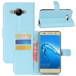 Huawei Y3 (2017) Blue Wallet Case