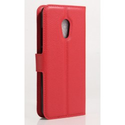 Meizu Pro 6 Plus Red Wallet Case