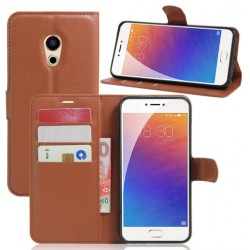 Meizu Pro 6 Plus Brown Wallet Case