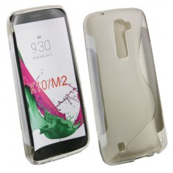 LG K10 Transparent Silicone Case