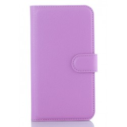 LG K10 Purple Wallet Case