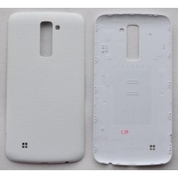 LG K10 Genuine White Battery Cover