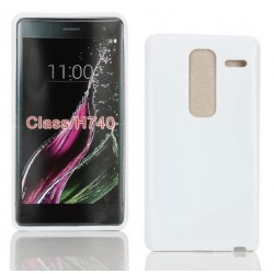 White Silicone Protective Case LG Class