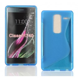 Blue Silicone Protective Case LG Class