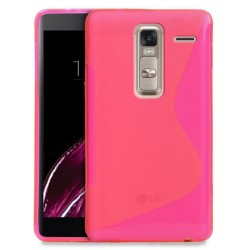 Pink Silicone Protective Case LG Class