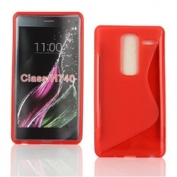 Red Silicone Protective Case LG Class