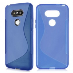 Blue Silicone Protective Case LG G5