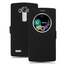 Black S-view Flip Case For LG G5