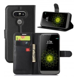 LG G5 Black Wallet Case