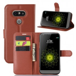 LG G5 Brown Wallet Case