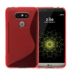 Red Silicone Protective Case LG V20