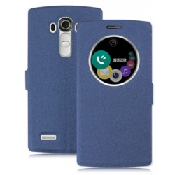 Etui Protection S-View Cover Bleu Pour LG V20