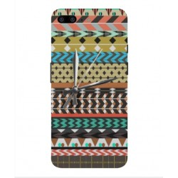 Coque Broderie Mexicaine Avec Horloge Pour OnePlus 5