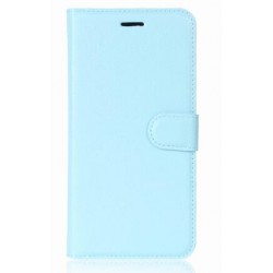 Protection Etui Portefeuille Cuir Bleu OnePlus 5