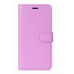 Protection Etui Portefeuille Cuir Violet OnePlus 5