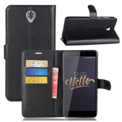 Cubot Max Black Wallet Case