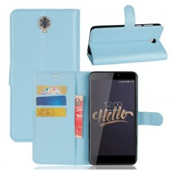 Cubot Max Blue Wallet Case