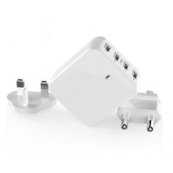 Chargeur Maison 4 Ports USB Samsung Galaxy Note Fan Edition