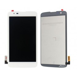 White LG K7 Complete Replacement Screen