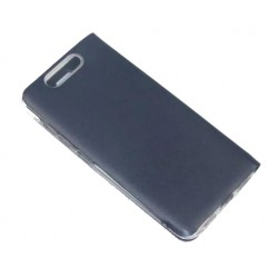 Etui Protection S-View Cover Bleu Pour ZTE Blade V8