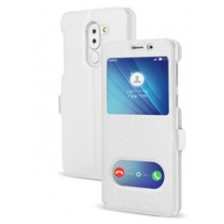 Etui Protection S-View Cover Blanc Pour Huawei GR5