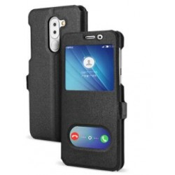 Black S-view Flip Case For Huawei GR5
