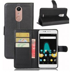 Wiko UPulse Lite Black Wallet Case