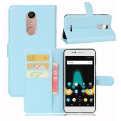 Wiko UPulse Lite Blue Wallet Case