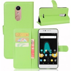 Wiko UPulse Lite Green Wallet Case